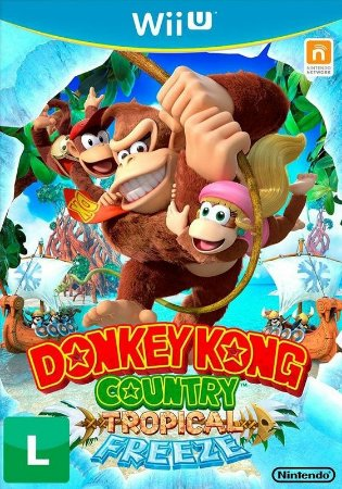 DONKEY KONG COUNTRY FREEZE - WIIU
