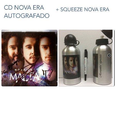 CD Nova Era Autografado + Squeeze Nova Era