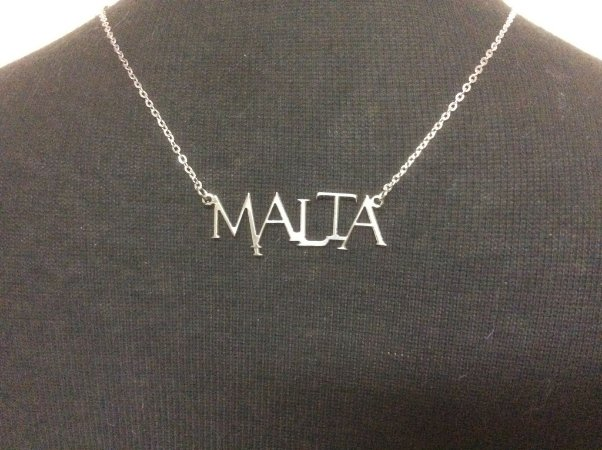 Gargantilha  Malta