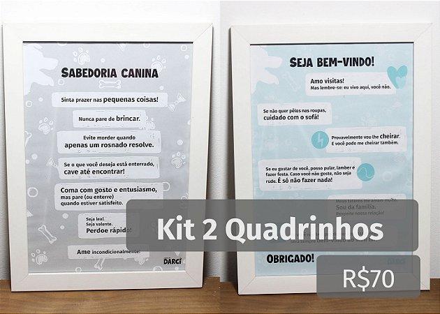 Kit 2 Quadrinhos
