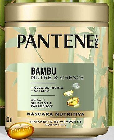 Máscara de Tratamento Capilar Pantene Bambu 600ml