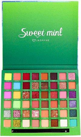 Paleta De Sombras Sweet Mint Jasmyne JS7013