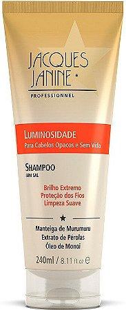 Shampoo Luminosidade de Jacques Janine Professionnel - Óleo de Monoi 240ml