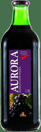 Suco de Uva Integral Tinto Aurora 1,5L