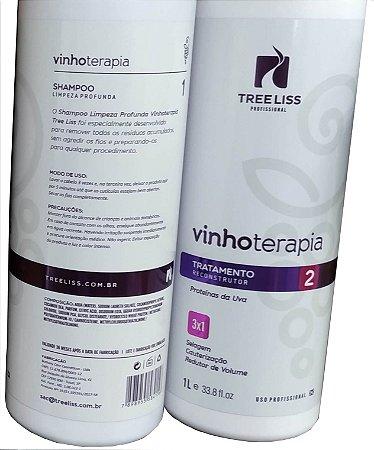 Progressiva Tree Liss Vinho Terapia 2x1L
