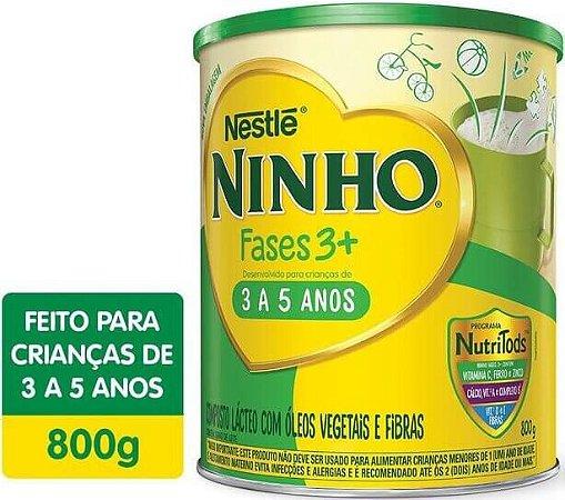 Ninho Fases 3+ Composto Lácteo 800g