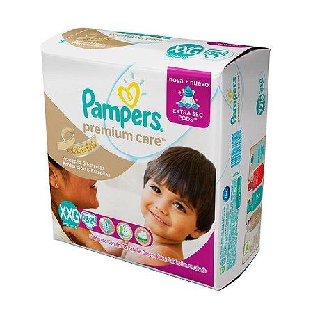 Fralda Pampers Premium Care XXG 32