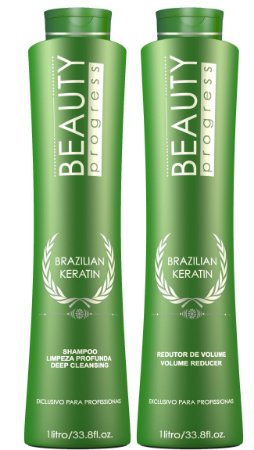 Beauty Progress Escova Progressiva Brazilian Keratin - 2x1000ml