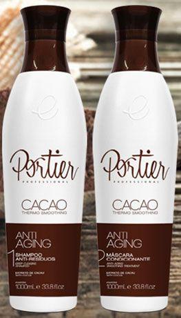 Escova Progressiva Portier Cacao 2 Produtos