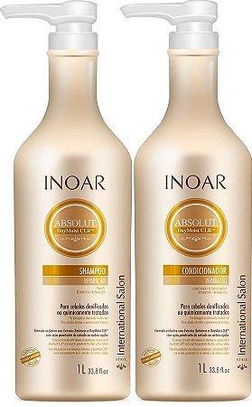 Kit Inoar Absolut Daymoist Shampoo 1000ml + Condicionador 1000ml