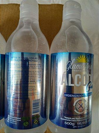 Álcool Gel Glamurosa Profissional 500g