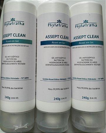 Ácool Gel 70% Antisséptico Phytotratha 240g