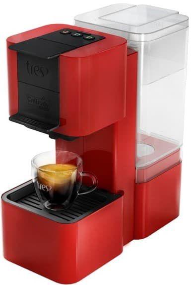 Cafeteira Elétrica Expresso Pop Plus Vermelha Tres 3corações 127v