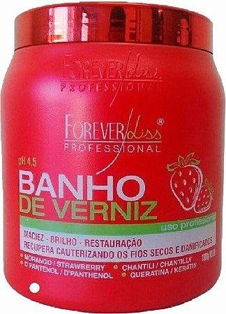 Máscara Banho de Verniz Morango Forever Liss 1kg