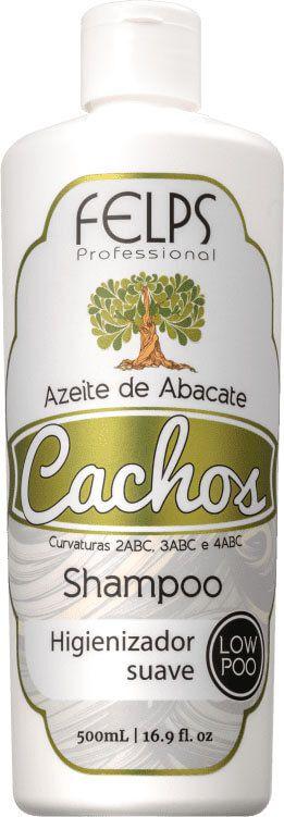 Shampoo Low Poo Felps Cachos Azeite de Abacate 500g