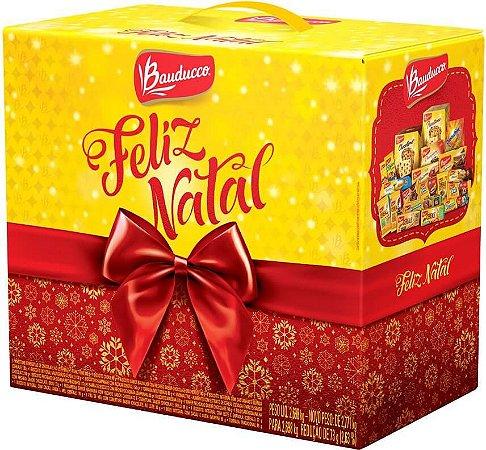 Kit Cesta de Natal Bauducco Grande Com 10 Cestas Natalinas