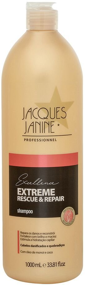 Shampoo  Jacques Janine Extreme Rescue & Repair 1000ml