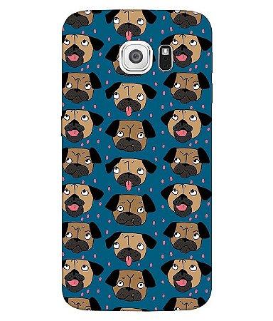 Capa de Celular - Pugs Fofinhos