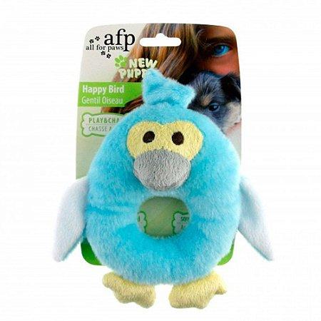 Brinquedo para filhotes - Pinguim Azul - NEW PUPPY AFP