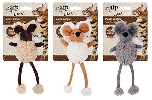 Ratinhos de Pernas Longas com Catnip - Mouse Dangler AFP