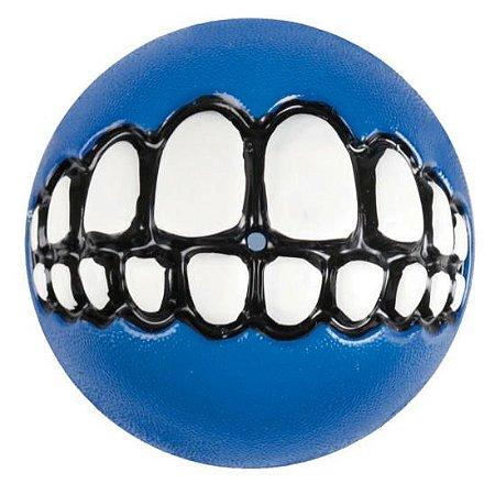 Bola Sorriso Azul - Grinz Ball Rogz