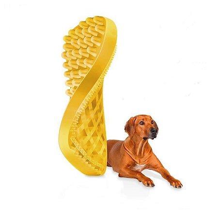 """Escova Massageadora """"PET+ME"""" - Cães de Pelos Curtos"""