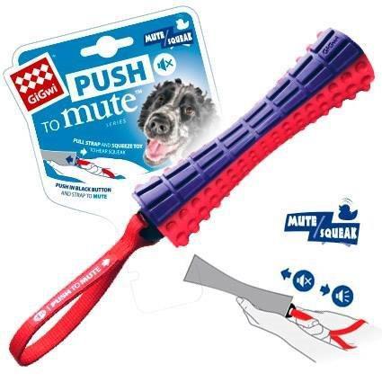 Brinquedo Stick - Push To Mute - Aperte para Silenciar