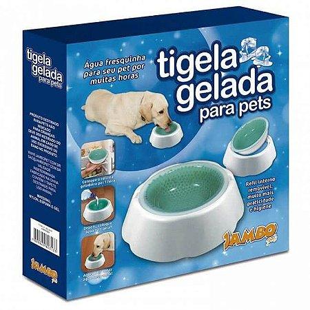 Tigela Gelada para Pets - 470mL