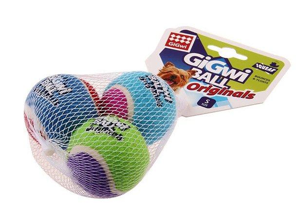 Bolas de Tênis GiGwi c/3 unidades