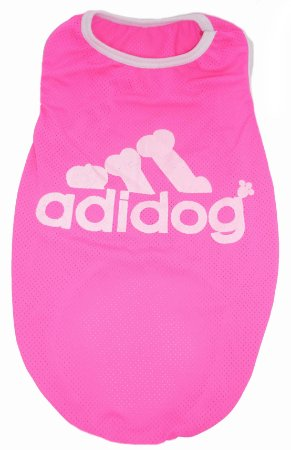 Regata Adidog Pink - Fator Proteção UV50