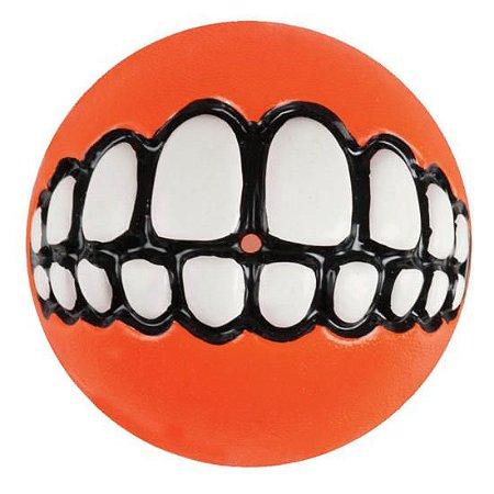 Bola Sorriso Laranja - Grinz Ball Rogz