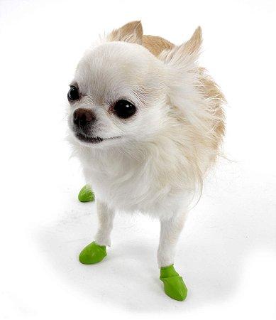 Pawz Verde Claro - Botas para Cães - Tamanho Tiny (mini)