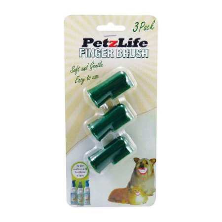 Escova dedeira - Finger Brush - PetzLife