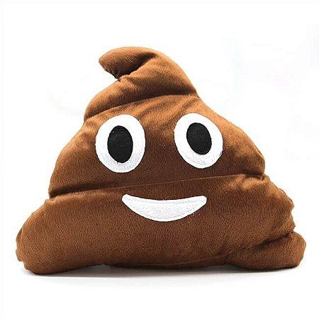 Almofada Fiz Caquinha - Emoji Cocozinho