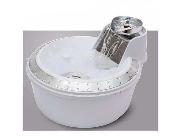 Fonte PetLon Premium Branco e Prata - 2 litros