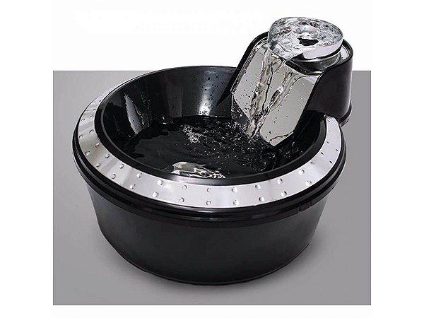 Fonte PetLon Premium Preta e Prata - 2 litros