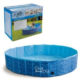Piscina Para Cães Grande Afp - Chill Out Splash And Fun Dog Pool - 600 Litros