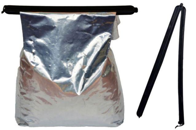 Fecho para saco de Ração de até 3kg - Petgames