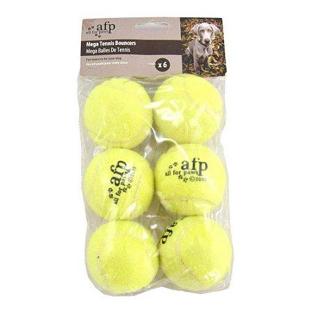 Kit com 6 Bolas de Tênis - AFP