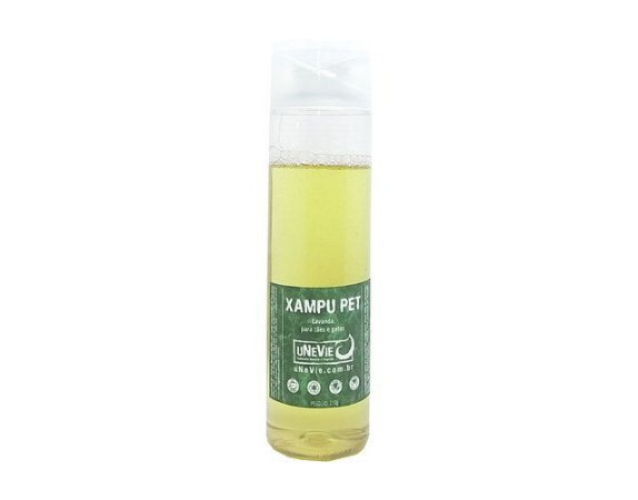 Xampu Pet Natural - uNeVie - 210mL