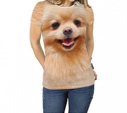 Camiseta Feminina - Lulu da Pomerânia ou Spitz