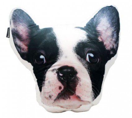 Almofada Formato - Bulldog Francês