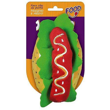 Brinquedo de Pelúcia Hot Dog