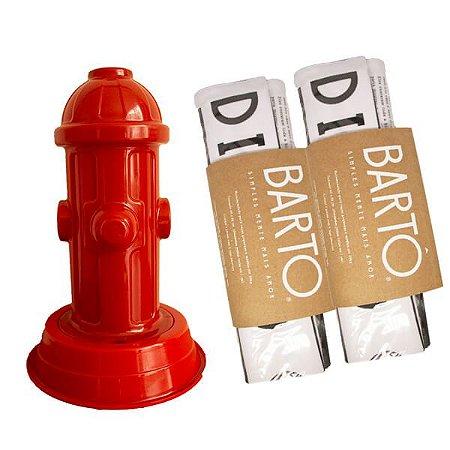 KIT com 1 Hidrante e 2 Tapetes Higiênicos Laváveis e Sustentáveis - Diário Canino