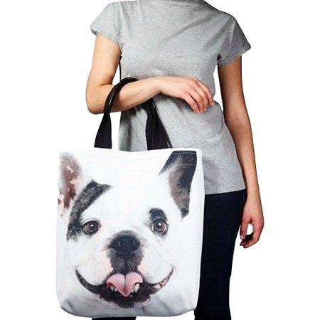 Bolsa Bulldog Francês - SPFW