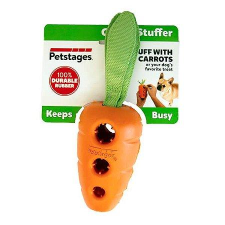 Brinquedo Cenoura Recheável para Cachorro - Petstages