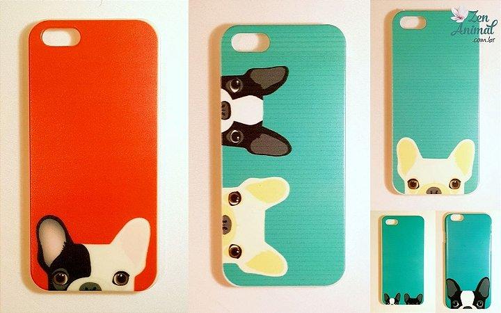 Capas de Iphone 4 ou 4S - Bulldog Francês
