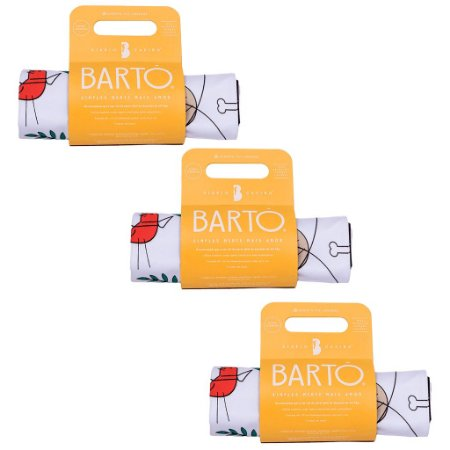 Kit com 3 Tapetes Higiênicos Laváveis e Sustentáveis Mini - Diário Canino