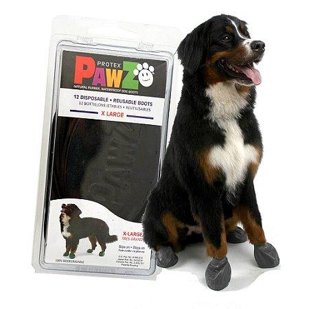 Pawz Preta - Botas para Cães - Tamanho X Large (X Grande)