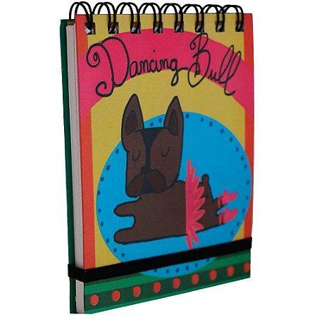 Bloquinho de Anotações Bulldog Bailarina